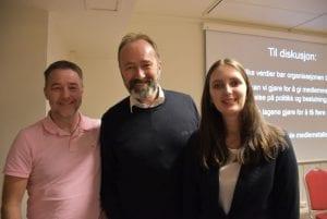 Et meget godt møte, kunne Ole Morten Balstad, Trond Giske og Tanja Fuglem oppsummere med etter årsmøtet.