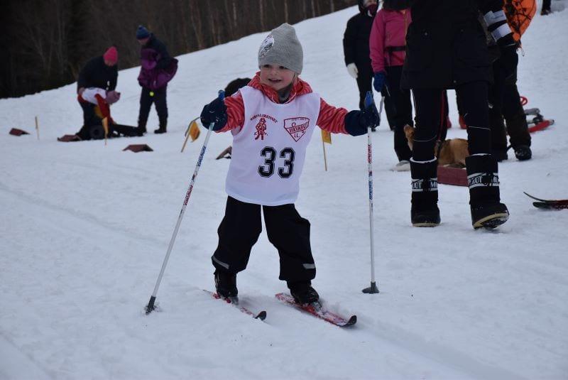Freja Melland Kulseth tror vi var Berndalsrennets blideste skiløper.