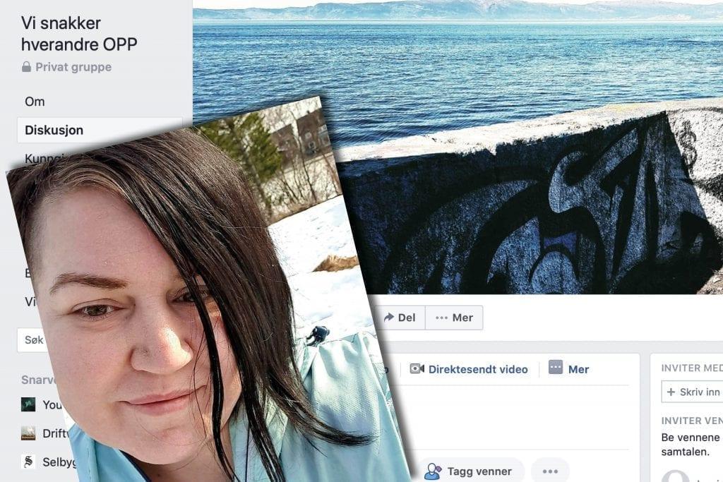 Gro Mari Engen Hanem har sammen med Eva Andrea Ofstad opprettet en hyggelig, digital møteplass på Facebook. Både for de som sliter psykisk i denne krevende perioden med isolasjon hjemme, men også for mennesker som bare vil slå av en digital prat.