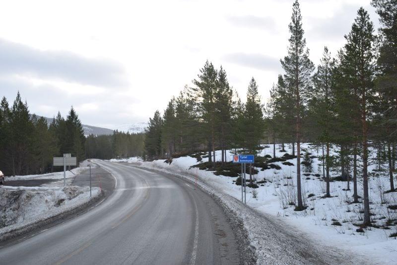 Til nå har Selbu og Tydal vært plassert i to forskjellige kontraktsområder. Nå vil samme entreprenør ha drifts- og vedlikeholdsansvar for fylkesveiene i begge kommunene. Nå vil avtalegrensa gå på Vinsmyra, men samme entreprenør har levert laveste anbud i begge områdene. Foto: Svein Hilmo.