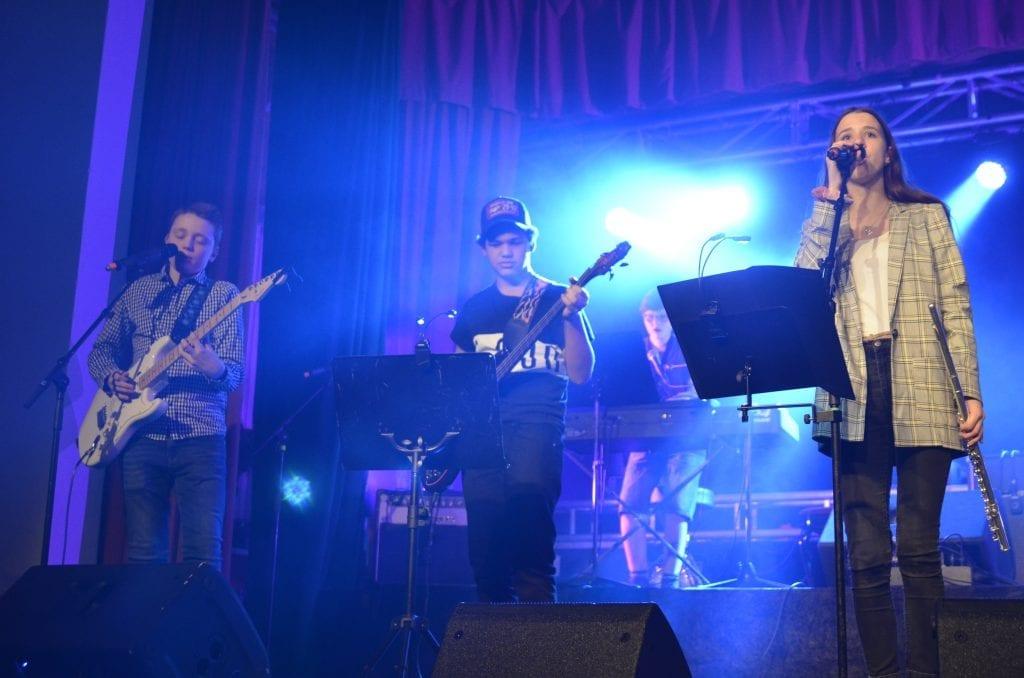 Blue Diamonds gikk videre til regionfestivalen under fjorårets UKM i Selbu og Tydal. De skal bidra med innslag i år også.