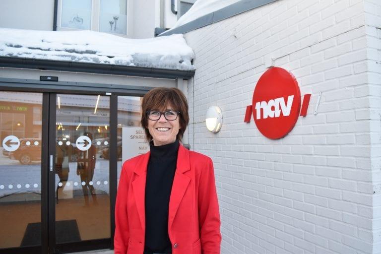 Merethe Storødegård, leder NAV Værnes, oppfordrer alle som har mulighet til å bruke digital søknad når de søker om sosialhjelp.