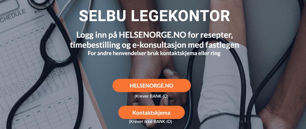 - Vi ønsker å være mest mulig tilgjengelig for alle pasienter i Selbu, sier fastlege Ole Dybro Kjeldsen, som har designet de nye nettsidene til Selbu legekontor.