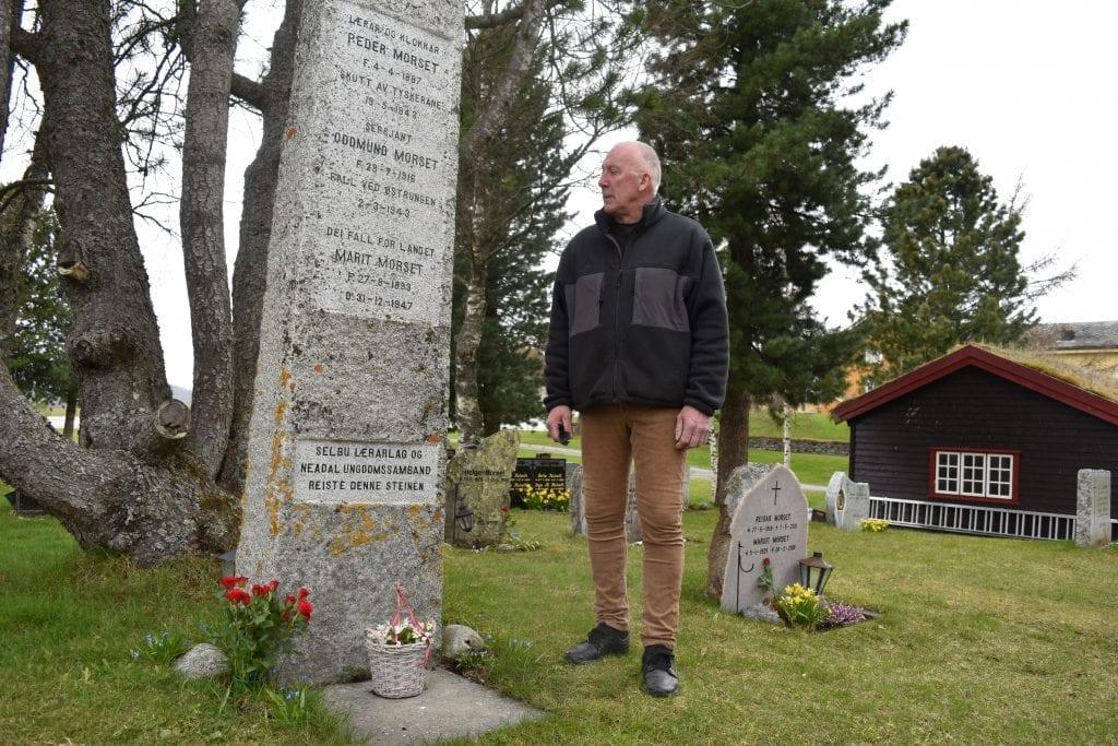 19.mai er det nøyaktig 77 år siden motstandsmannen Peder Morset ble henrettet og skutt på Kristiansten festning i Trondheim. -For Peder fantes det ingen kompromisser, ingen fred uten frihet. Derfor måtte alt bli som det ble, sier Svein Morset som hedrer bestefarens minne med den største respekt og ærbødighet.