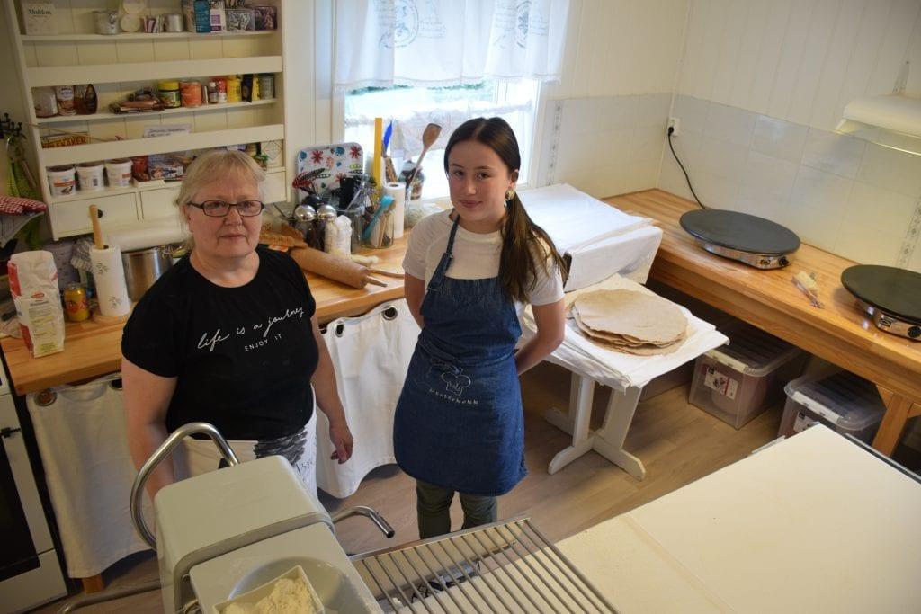Alison Østby og Inger Martine Gipling