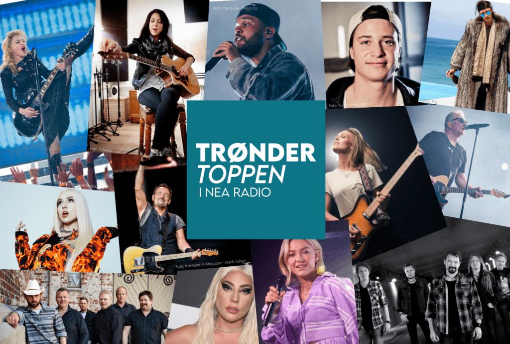 Nå kan du stemme på din favorittlåt, i Nea Radios nye programkonsept Trøndertoppen.