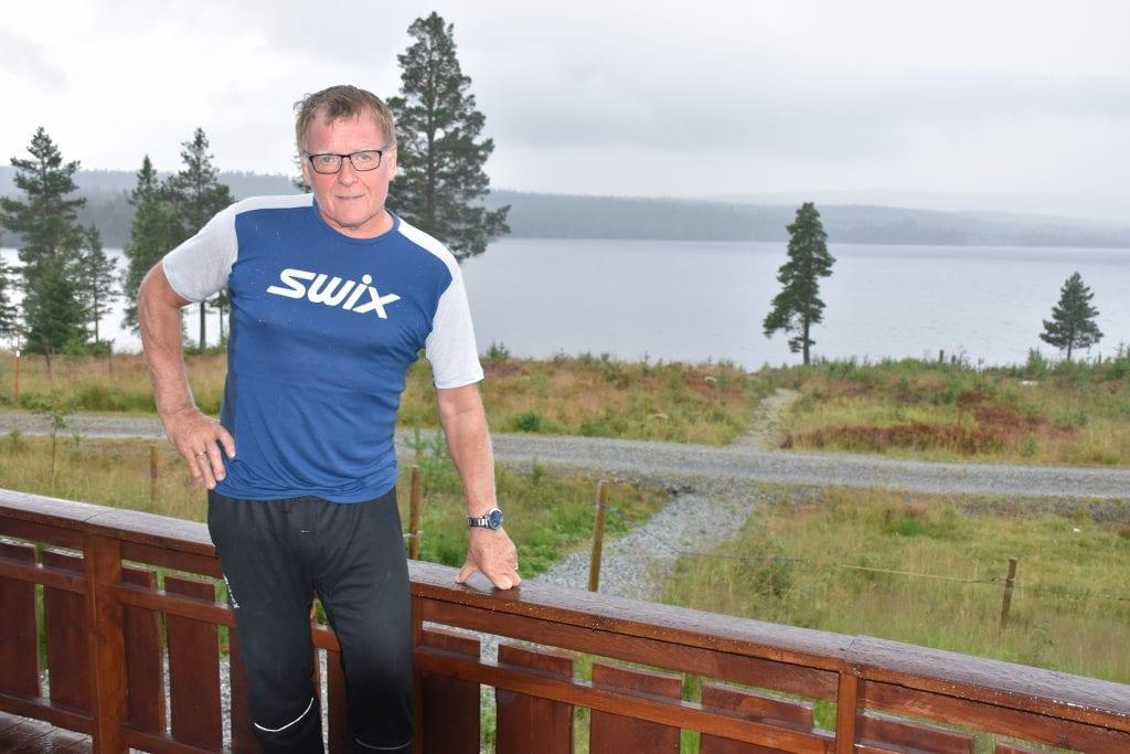 : Selv på regnværsdager er det svært vakkert ved Sørungen, sier Fritjof Lyng-Nielsen.