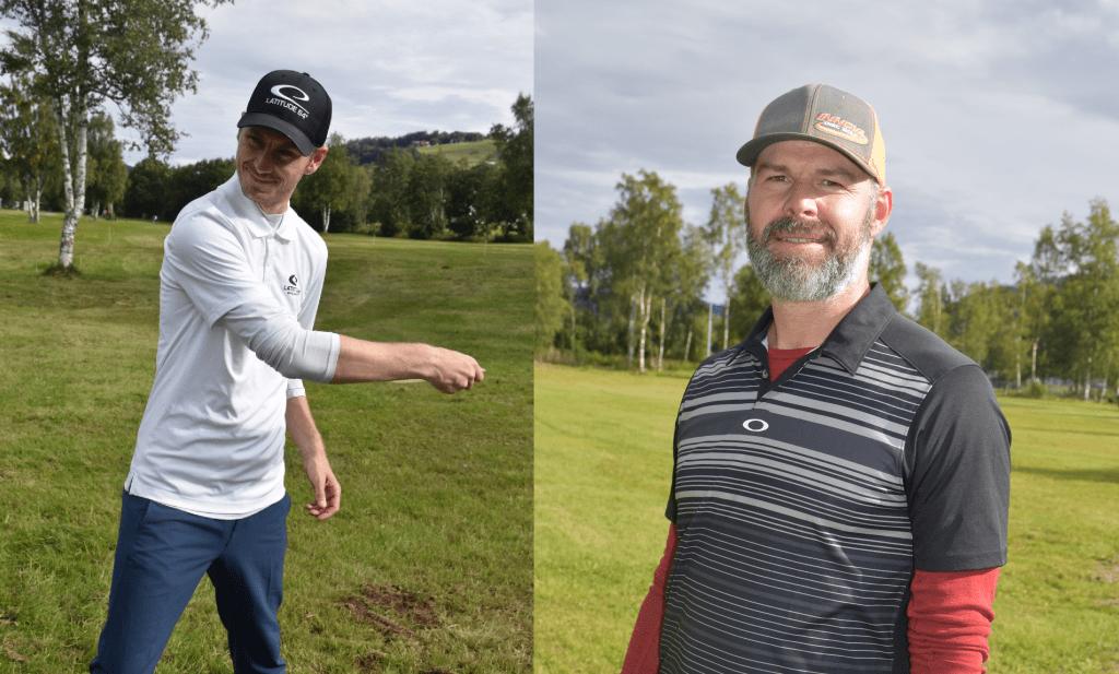 Leiv Aspén og Ståle Stai Hakstad