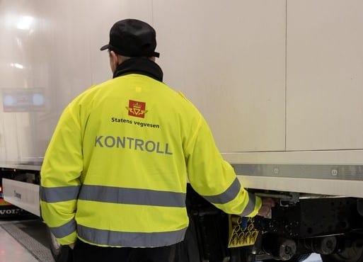 Det var en del å ta tak i for kontrollørene i Statens vegvesen mandag.