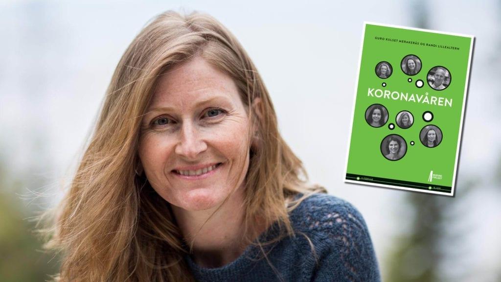 Guro Kulset Merakerås er hovedforfatter bak boka Koronavåren. Hun har dokumentert hvordan folk opplevde verden som forandret seg time for time da Norge stengte ned, og har skrevet Selbu inn i boka. Foto: Erle Kulset Merakerås