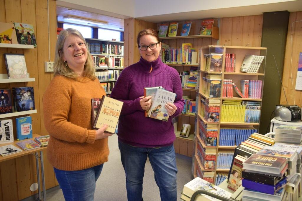 Oddbjørg Øiberg og Sonja Alise Borseth ved biblioteket i Selbu tilpasset seg raskt i annerledesåret 2020. De startet take-awaybibliotek, som ble godt mottatt av kunder som hadde savnet tilbudet. Over 1000 bøker på fire dager ble pakket i til henting. Arkivbilde