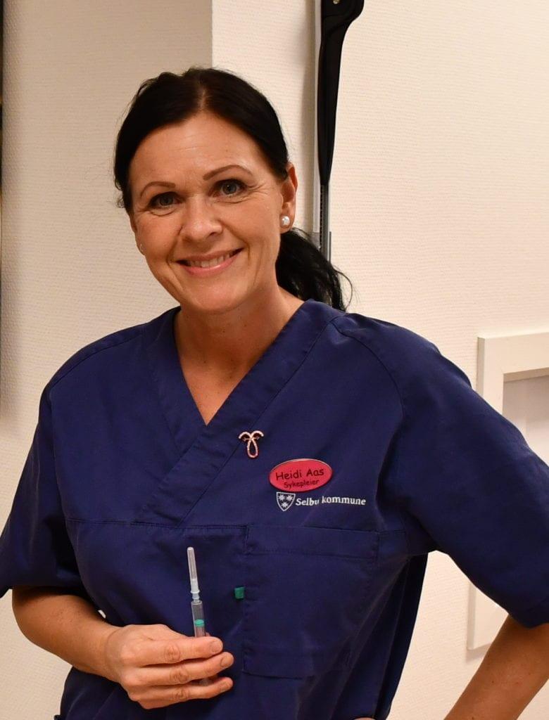 Vaksinekoordinator Heidi Aas