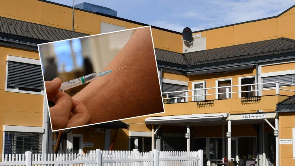 I Selbu blir all vaksinering på «gamle» Selbu Sykehjem en periode framover.