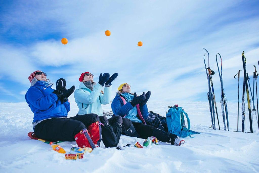 I en pressemelding deler Trondhjems Turistforening noen av sine beste påsketips. Foto: TT