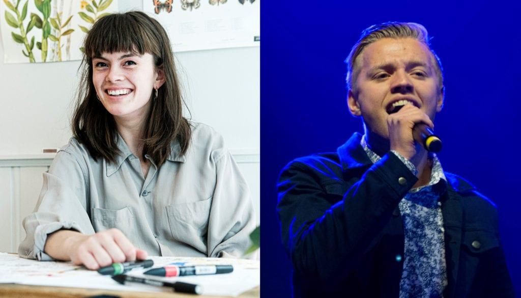 Selbyggene Kjersti Synneva Moen og Henrik Fuglem er to av de som nå håper å komme gjennom nåløyet og motta Drømmestipendet 2021.