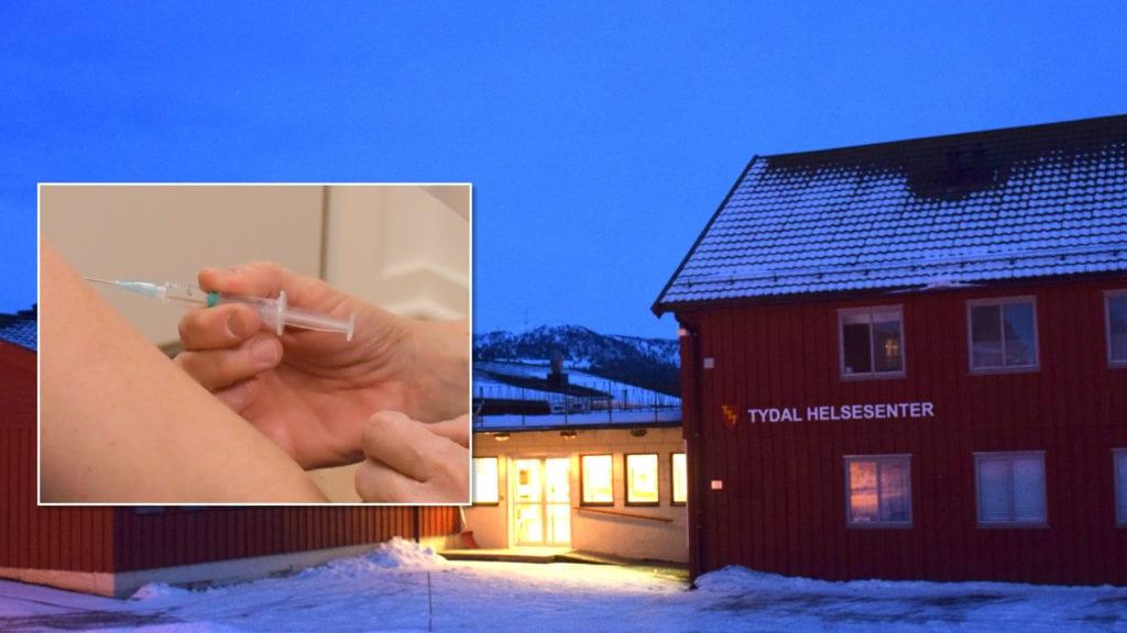 Tydal kommune begynner i neste uke å koronavaksinere innbyggere over 65 år. Foto: Svein Hilmo/Lina Tørum