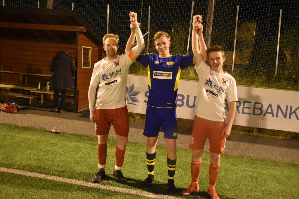Geir Arne Olsen, Marcus Nesvold og Mikael Setseng Mogård