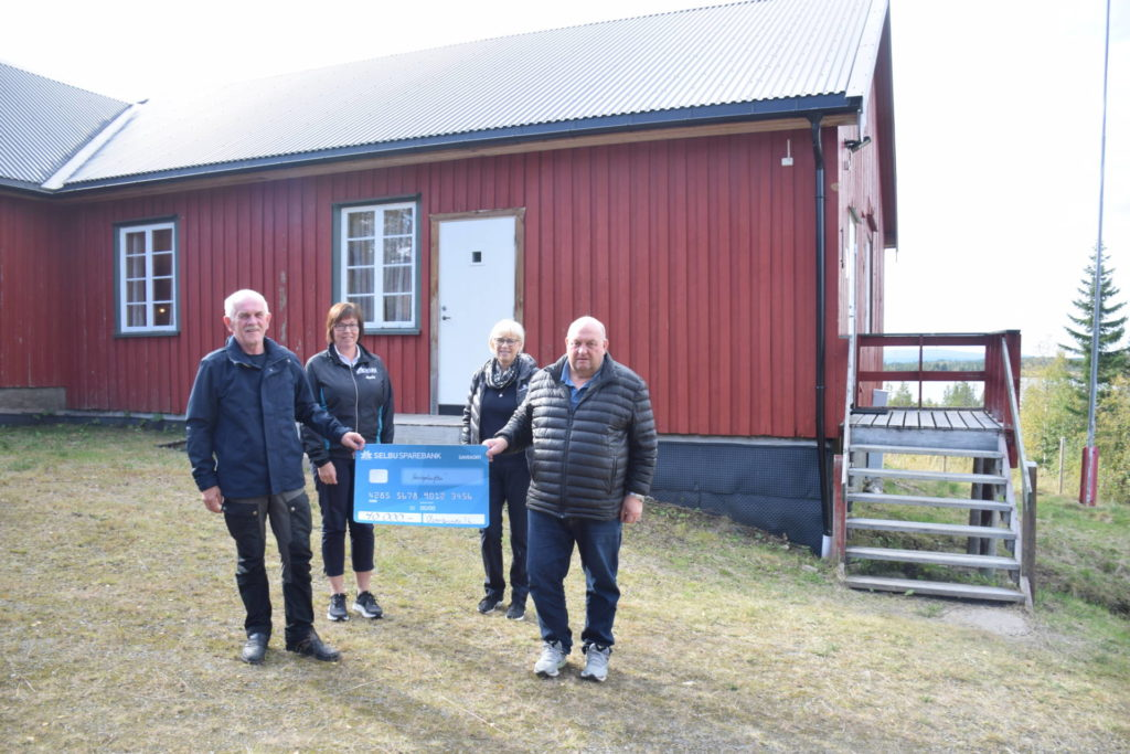 Hans Ragnar Rønsberg, Solfrid Flønes, Anne Garberg Gresseth og Odd Jostein Marstad
