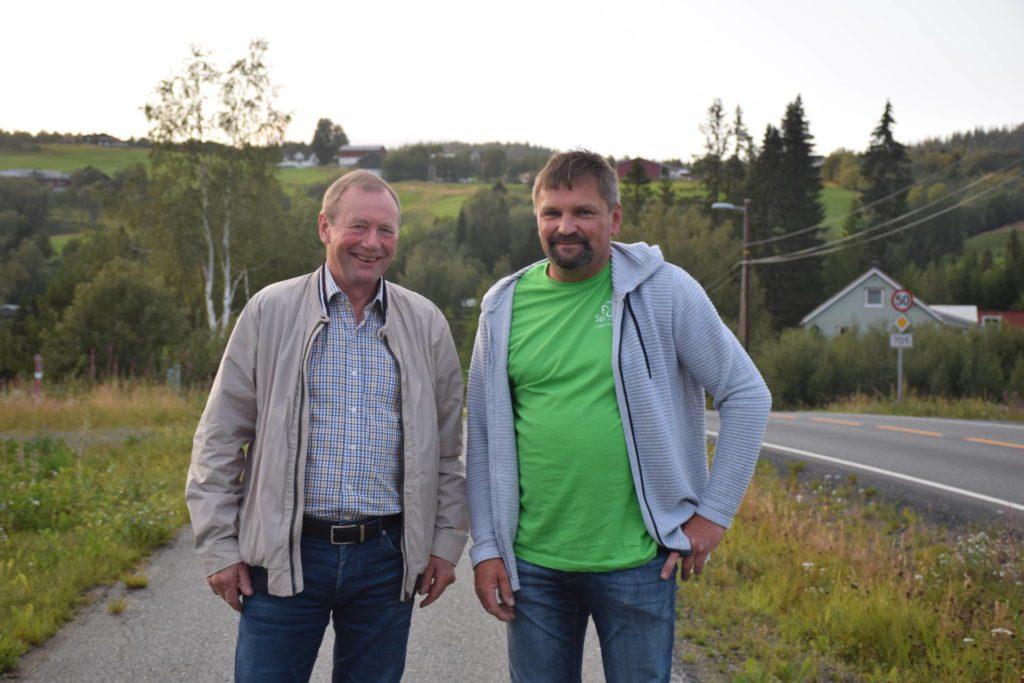 Lars Græsli og Jens Arne Kvello