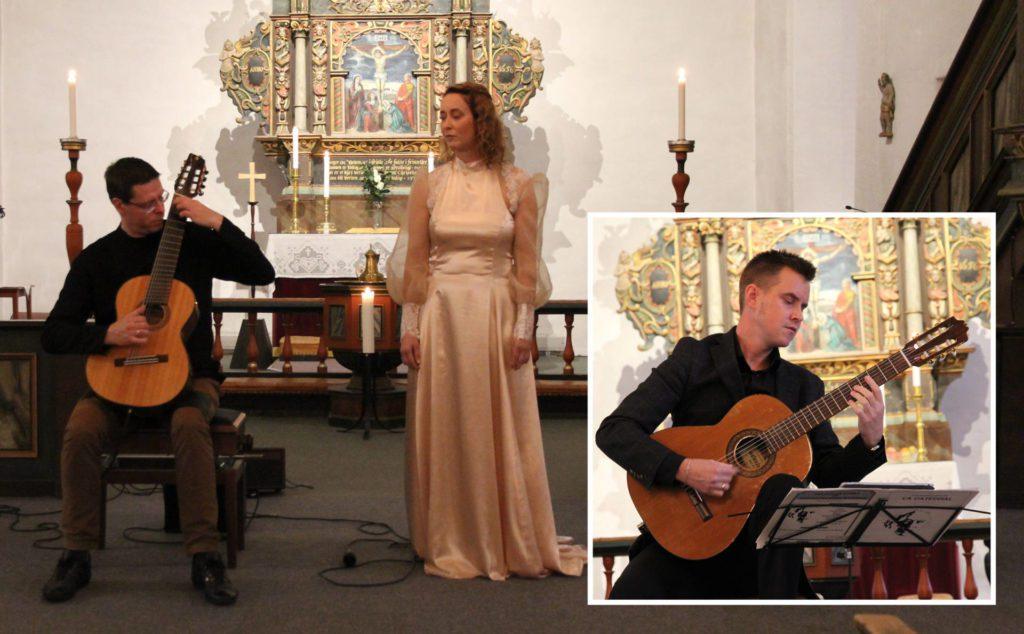 Det skulle gjerne vært i fler i kirka under søndagens konsert med Mai-Britt Wagnild, Alf Wilhelm Lundberg og Jørgen Skogmo (innfelt), men de som var der fikk en flott konsertopplevelse i verdensklasse.